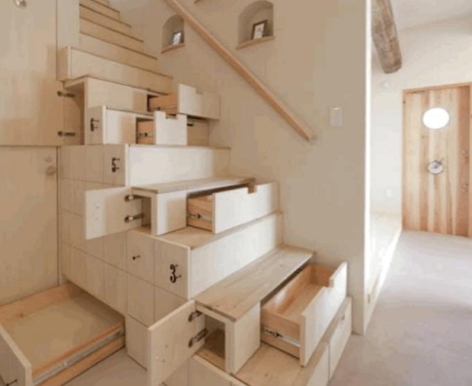أفكار ذكية لاستغلال المساحات الصغيرة داخل بيتك